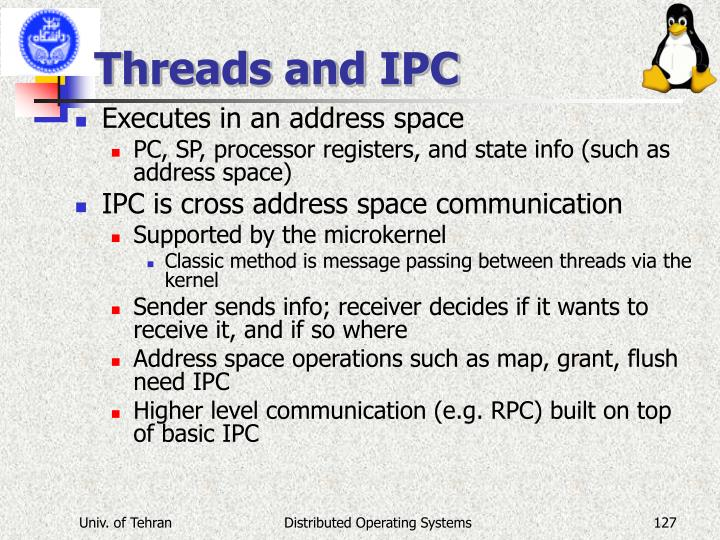 Threads and IPC