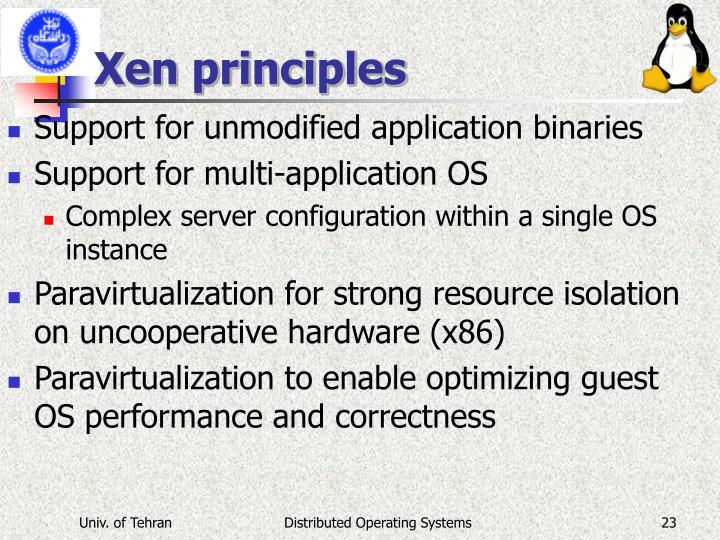Xen principles