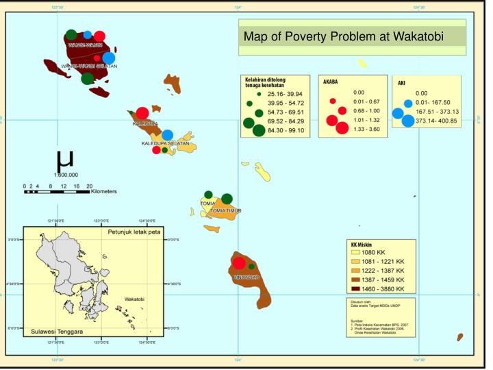 Map of Poverty Problem at
