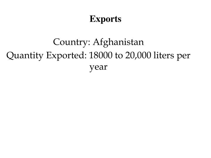 Exports
