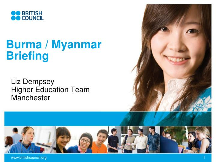 Burma myanmar briefing
