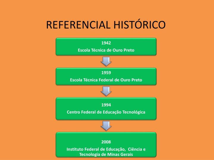 REFERENCIAL HISTÓRICO