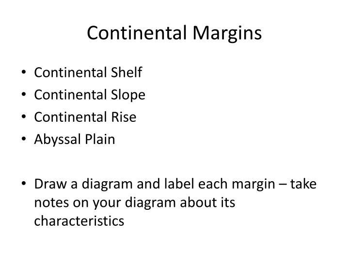 Continental Margins