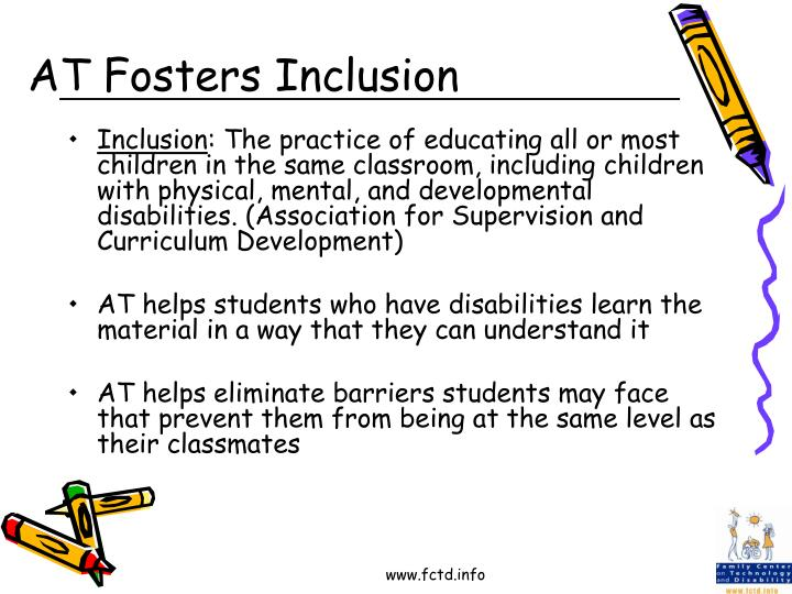 AT Fosters Inclusion
