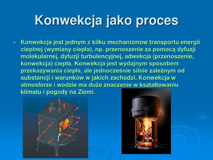 Konwekcja jako proces