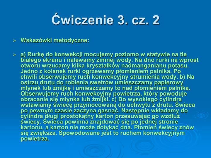 Ćwiczenie 3. cz. 2