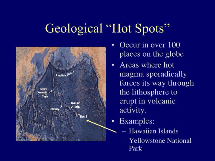 "Geological ""Hot Spots"""