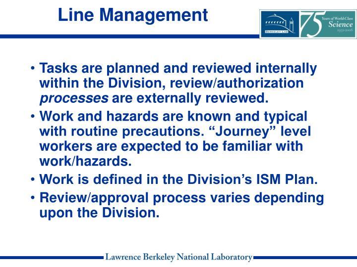Line Management