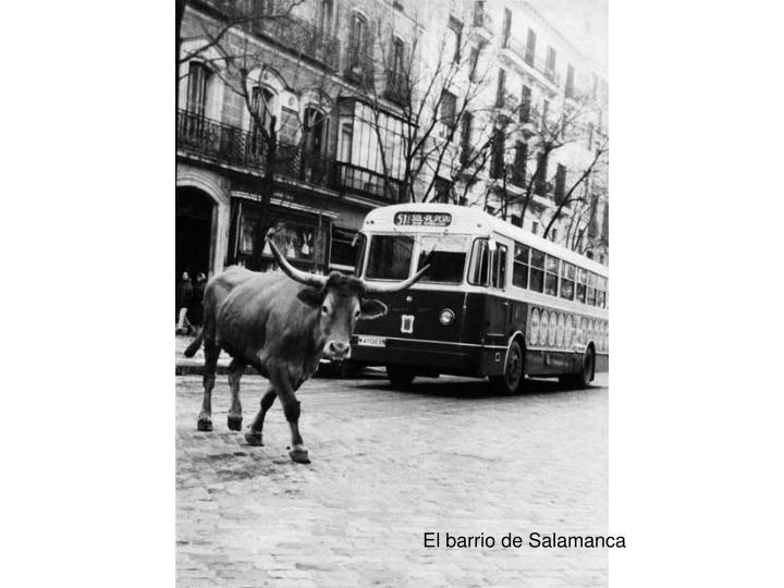 El barrio de Salamanca