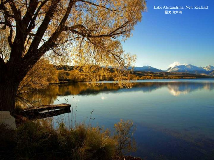 Lake Alexandrina, New Zealand