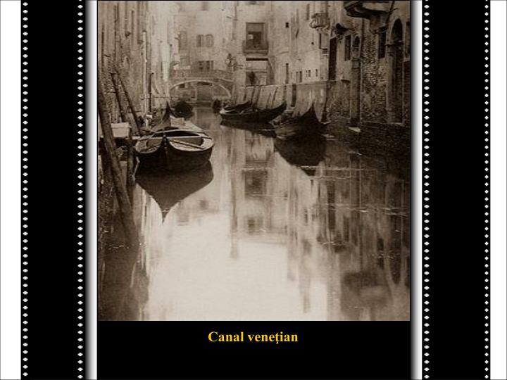 Canal veneţian