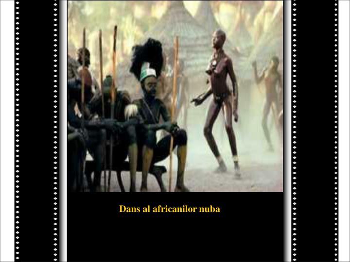 Dans al africanilor nuba