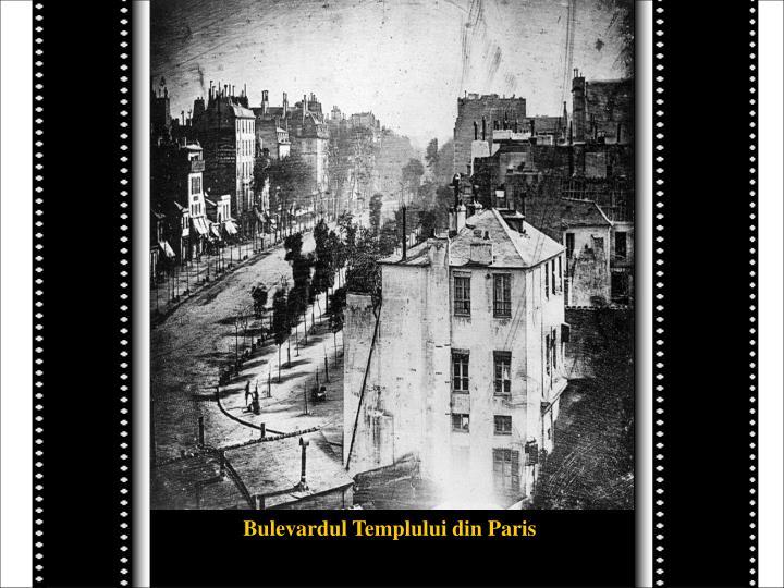 Bulevardul Templului din Paris