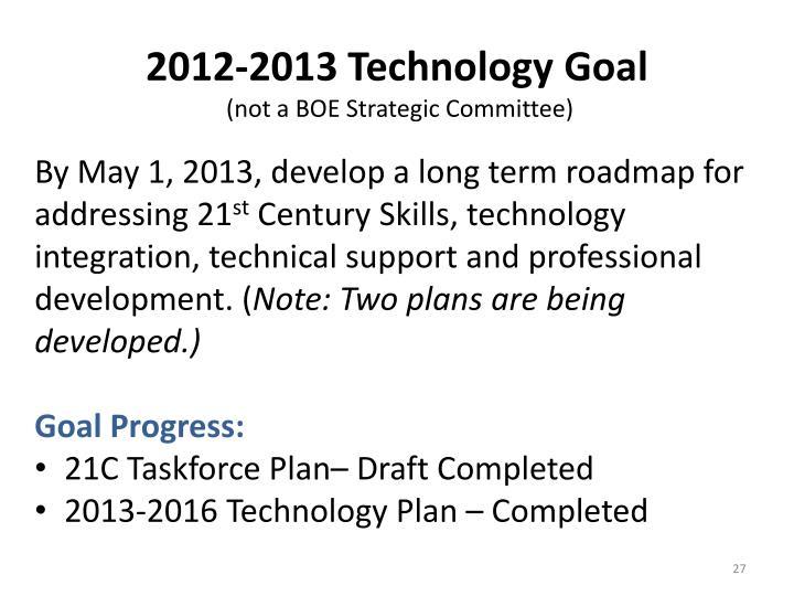 2012-2013 Technology