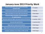 january june 2013 priority work4