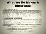 what we do makes a difference2