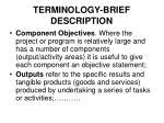 terminology brief description2