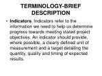 terminology brief description4