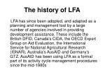 the history of lfa1