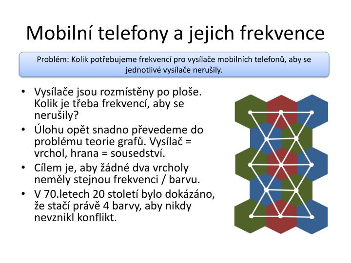 Mobilní telefony a jejich frekvence