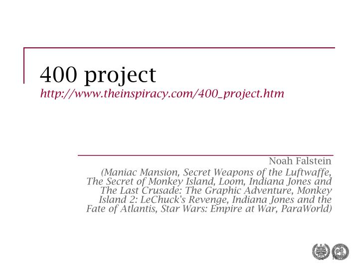400 project