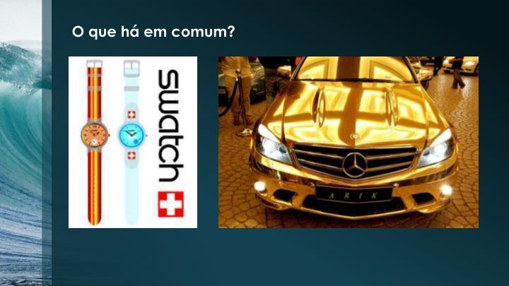 O que há em comum?