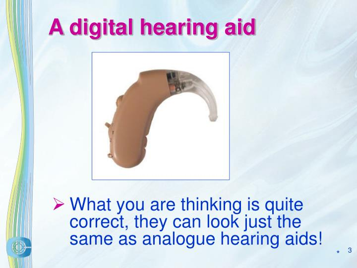 A digital hearing aid