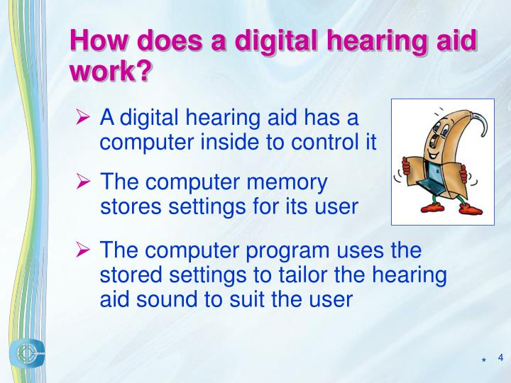 How does a digital hearing aid work?