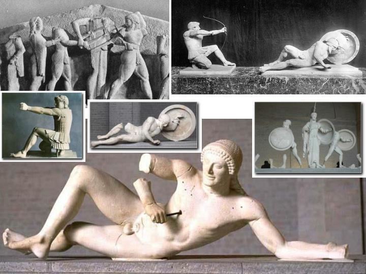 Grecia Tesoro de los Sifnios y Aphaia en Egina
