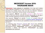 microsoft access 2010 tworzenie makr6