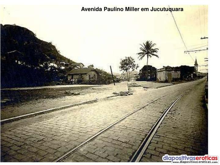 Avenida Paulino Miller em Jucutuquara