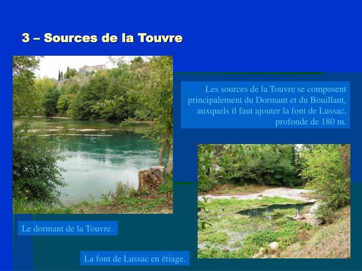 3 – Sources de la Touvre