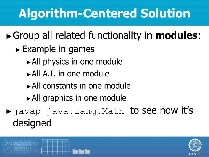 Algorithm-