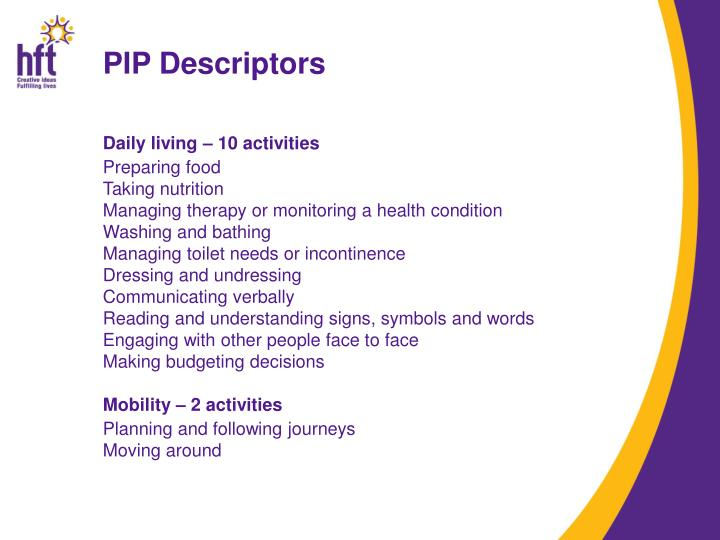 PIP Descriptors