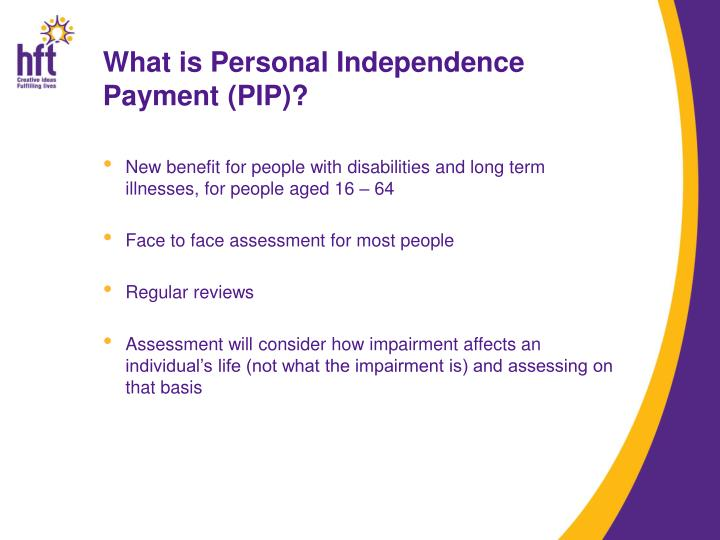 What is Personal Independence Payment (PIP)?