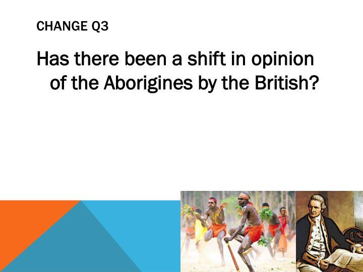 CHANGE Q3