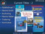 current titles 2
