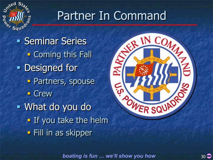 Partner In Command