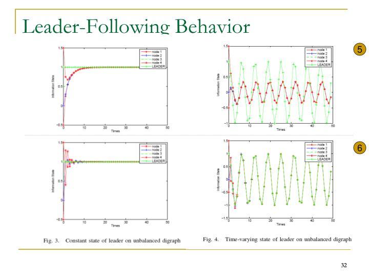 Leader-Following Behavior