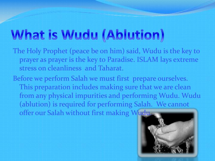 What is Wudu (Ablution)