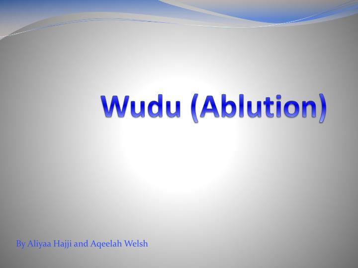 Wudu (Ablution)