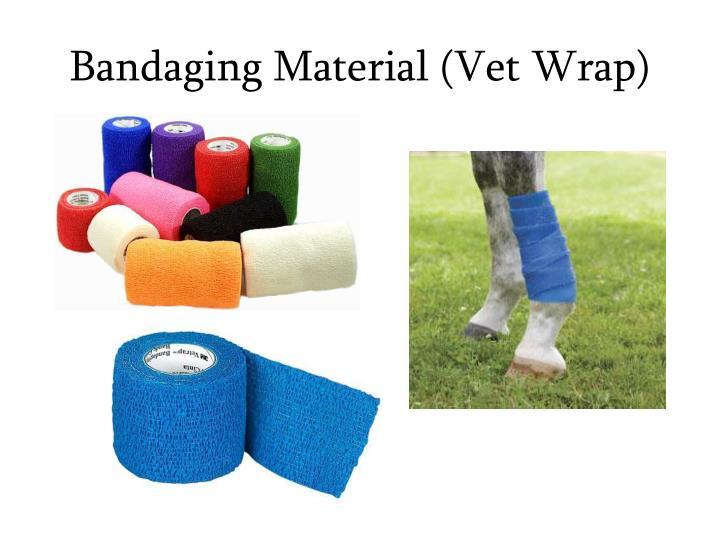 Bandaging Material (Vet Wrap)