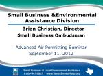 small business environmental assistance division