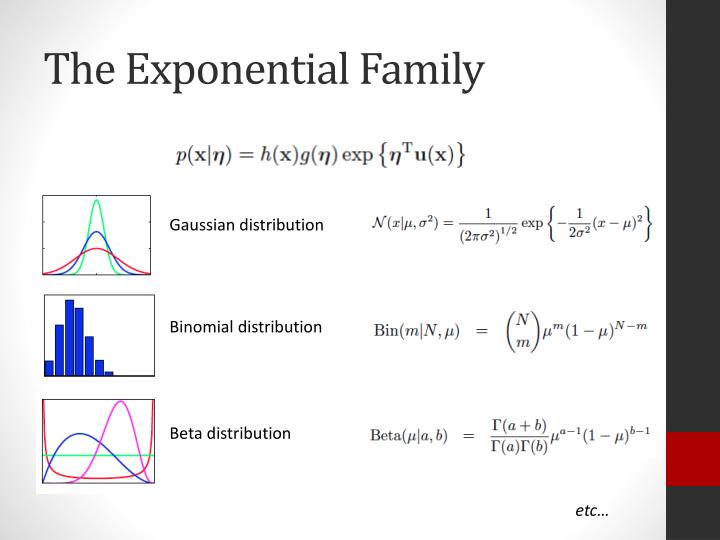The Exponential Family