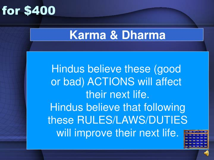 Karma & Dharma