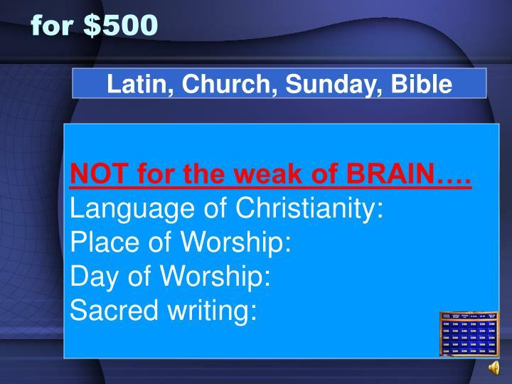 Latin, Church, Sunday, Bible