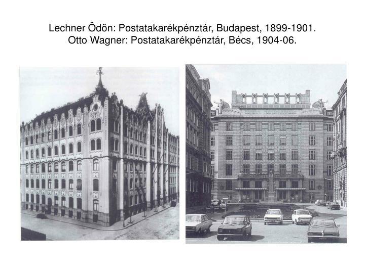 Lechner Ödön: Postatakarékpénztár, Budapest, 1899-1901.