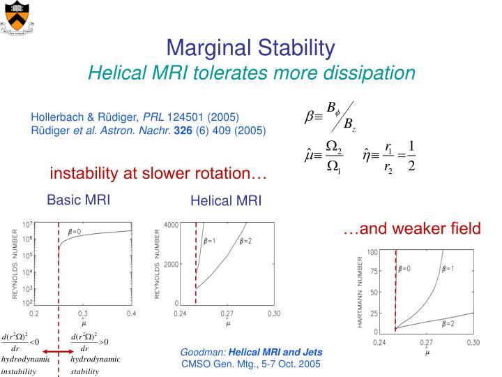 Marginal Stability