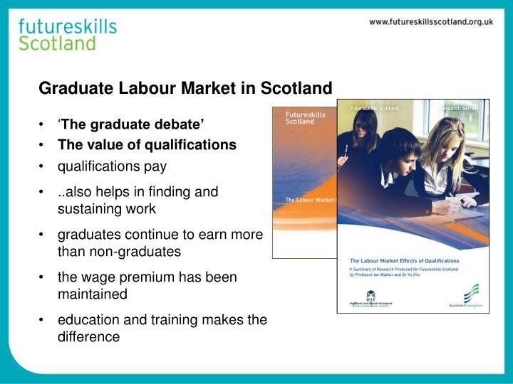 Graduate Labour Market in Scotland