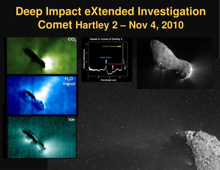 Deep Impact eXtended Investigation Comet